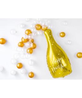 Ballon Bouteille de Champagne Or