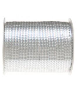 Bolduc hologrammes métal Argent 25 m
