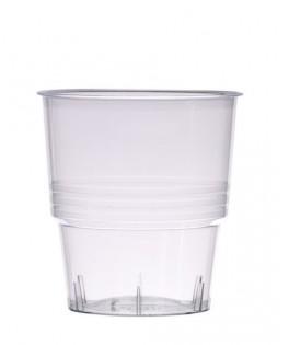 verres plastique cristal injecte transparent