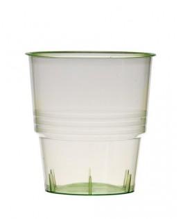 verres  plastique cristal injecte 25cl vert anis