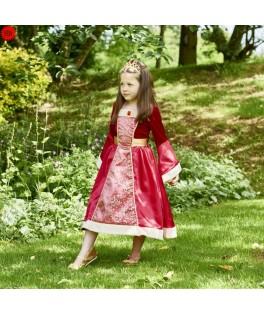 Déguisement Princesse Médiévale avec couronne