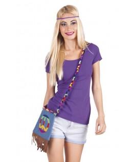 Sac bandoulière tissu Hippie