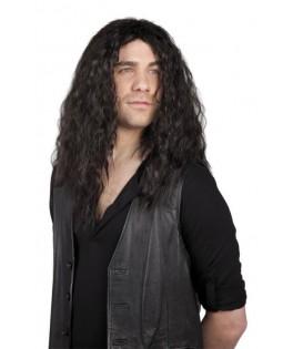 Perruque Rock Mike noire