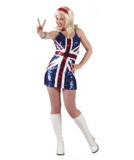 Robe Sequins Miss UK