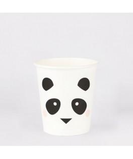 8 Gobelets mini Panda