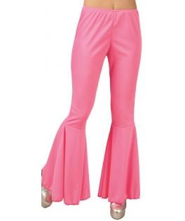 Déguisement Pantalon pattes d'elephant rose