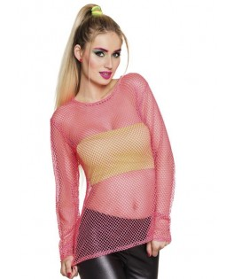 Tee-shirt Fluo Rose