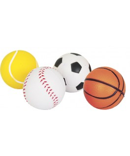 4 Balles de sport en mousse