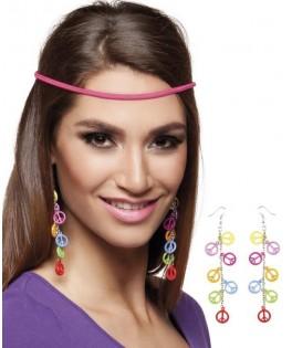 Boucles d'oreilles Hippie