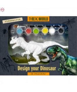 Dinosaure à peindre Allosorus T Rex