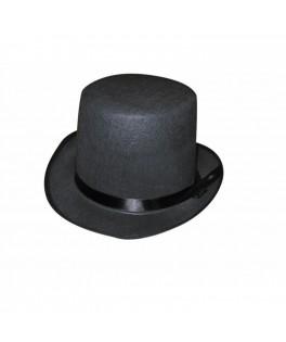 Chapeau Haut de forme Gibus noir