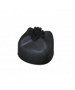 Chapeau de Curé noir homme