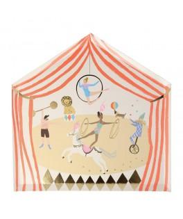 8 Grandes assiettes Chapiteau de cirque