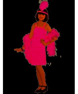 Déguisement Cabaret rose Fille