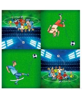 20 Seviettes Football