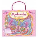 8 Masques paillettes Princesse Lillifee