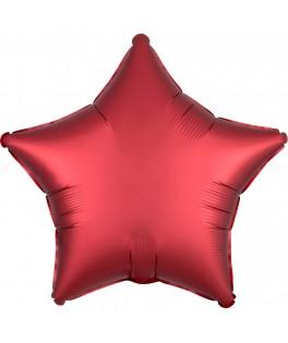 Ballon Etoile rouge sangria