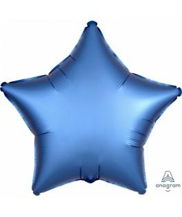 Ballon Etoile bleu lavande
