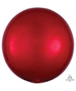 Ballon Orbz rouge 40 cm