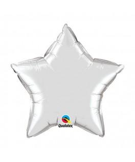 Ballon Etoile Argent - Vrac