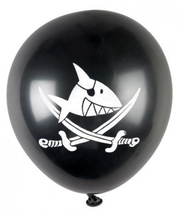 Ballons Pirate Capt'n Sharky