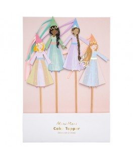 Cake Toppers Princesse Magique