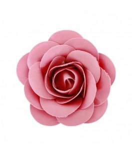 Rose à piquer satin fuchsia