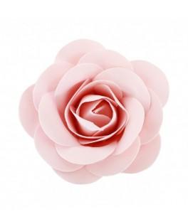 Rose à piquer satin pâle