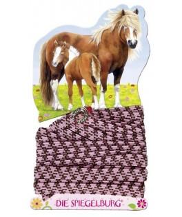 elastique thème amis des chevaux