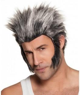 Perruque Loup Garou grise