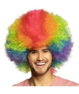 Perruque de Clown Arc-en-ciel