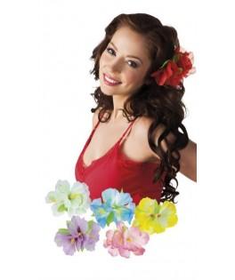Broche fleur Hawaïenne tropicale