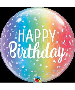 Ballon Bubble Happy Birthday