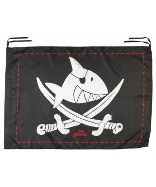 drapeau de pirate sharky