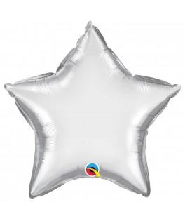 Gros Ballon Etoile Argent - Vrac