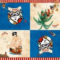 20 Serviettes Pirate Capt'n Sharky - 33 cm