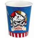 8 Gobelets Pirate Capt'n Sharky