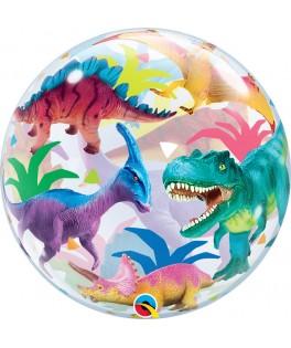 Ballon Bubble Dinosaure