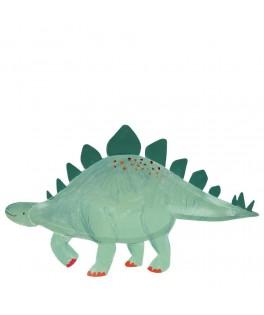 4 Plateau Dinosaure Stegosaure