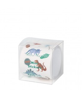 Rouleau 500 Stickers Dinosaure