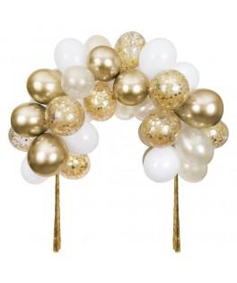 Kit Arche de ballons dorés