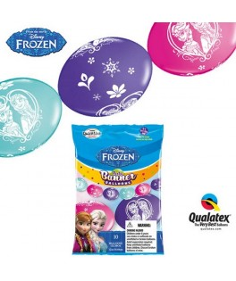 Ballons latex Quick Link Disney Reine des Neiges   x10