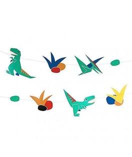 Guirlande Dinosaure