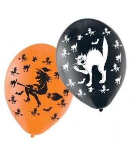 Ballons Halloween Chats & Sorcières
