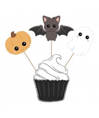 3 Grands pics à gâteaux Halloween