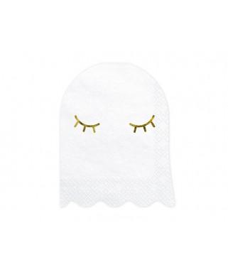 20 Serviettes papier Fantôme Halloween