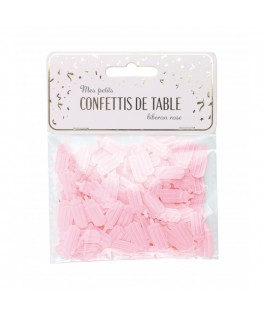 Confettis de table étoiles Biberon rose