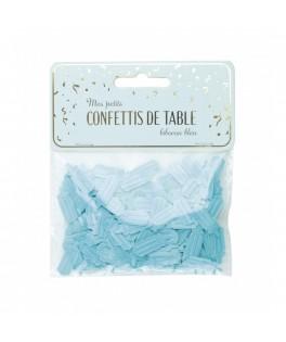 Confettis de table étoiles Biberon bleu