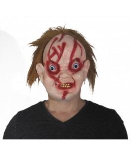 Masque Latex poupée effrayante