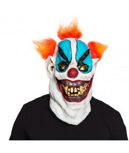 Masque latex Méchant clown